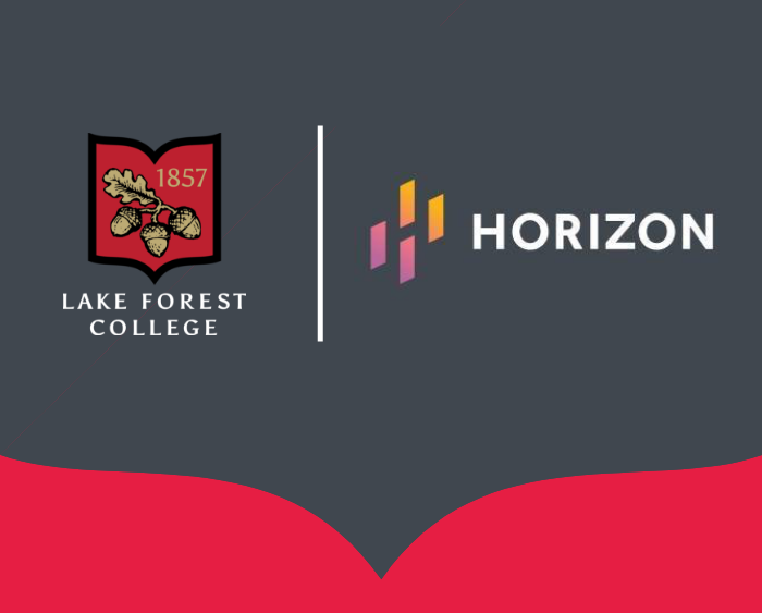 Lake Forest College and Horizon Therapeutics logos
