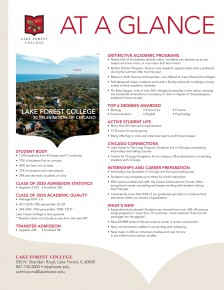 Request Information | Admissions | Lake Forest College