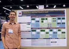 Michael Fiske '10 won Best Undergraduate Poster Prize at the ASBMB annual meeting.