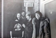 This photo of Nat Williams '74 (second from right) and his Lake Forest College friends appears in the 1974 yearbook. Nat s...
