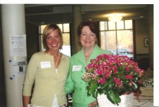 Heather Everst Herriges '08 (left) was matched with Nancy Hurd Wolters '70 for the Mentor Program in 2005. They remain...