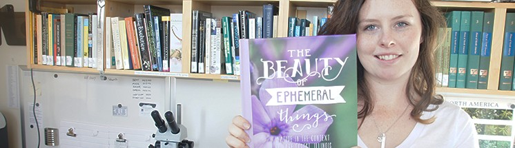 Nora Logue '14 recently published her first book (in print and digitally).