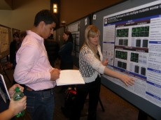 Richter Scholar Natalie Kukulka '13 presents her neuroscience research.