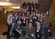 45 Lake Forest students and two faculty attended the 2011 Chicago Neuroscience meeting.  Not all students are in this photo.