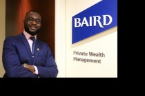 Kwasi Akowuah '20 gained marketable skills from his work as a private wealth management intern at Baird in Chicago.