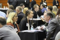 Students at Speed Networking