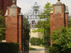 Lake Forest College Gates