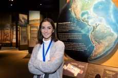 Lily Coyl '20 helped reshaped the Native American exhibit at Chicago's Field Museum during an internship.
