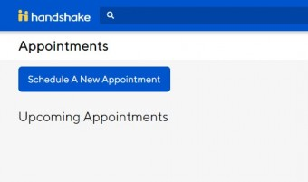 Appointments on Handshake