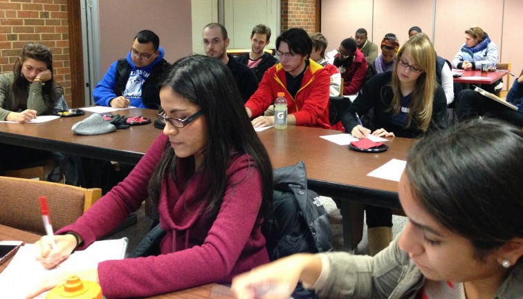 Students explore their career options at workshops hosted by the Career Advancement Center.