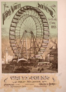 Cover of Sheet Music for the Ferris Wheel Waltz & Polka
