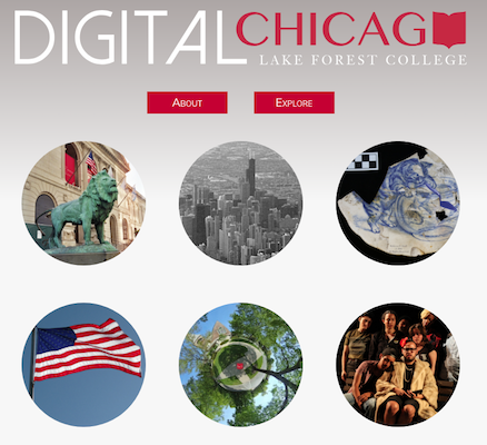 Digital Chicago's website