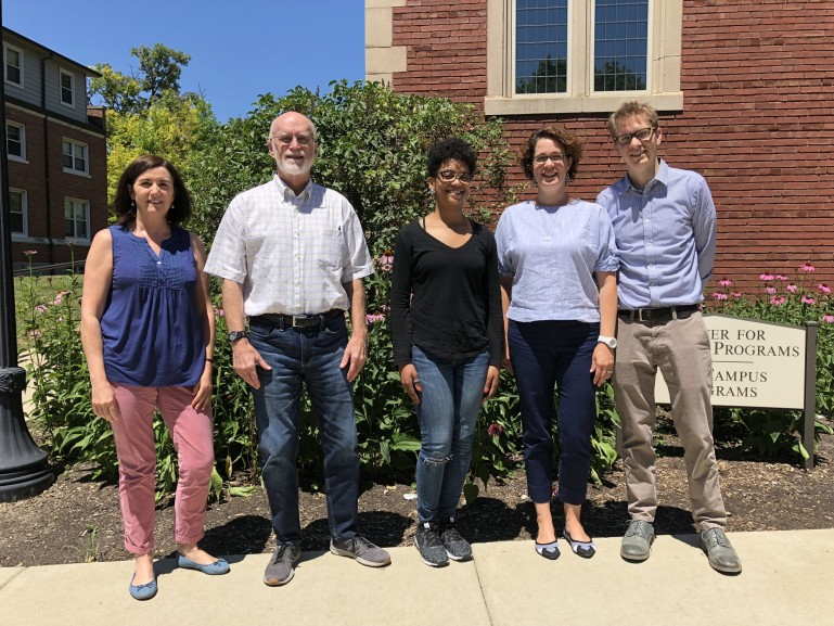 Chicago Fellows 2018, L to R: Annie Barry, Rand Smith, Courtney Cain, Liz Benacka, Rudi Batzell