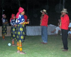 Kunas dancing - Tulekaya would be used in these instances with relaxed atmospheres.