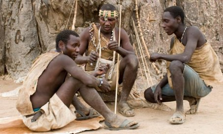 A group of two or more Hadza men call themselves hadzabii
