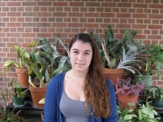 Emily Hampden-Smith '13, majoring in Biology.