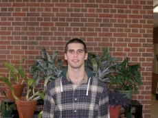 Tyler Hauer '13 is a junior from Toronto, Ontario and is majoring in biology and minoring in chemistry.