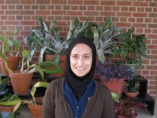 Shabana Yusufishaq '12 is a senior biology and education major from Des Plaines, IL.