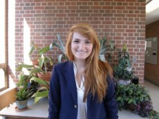 Ashley Reich '13, majoring in Biology.