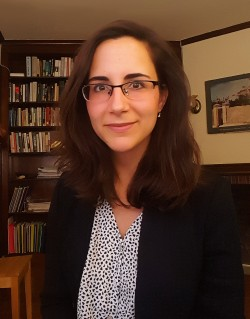 Cristina Groeger, Assistant Professor of History