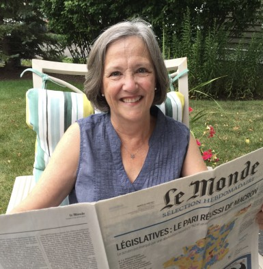 Barbara Harvey reads Le Monde