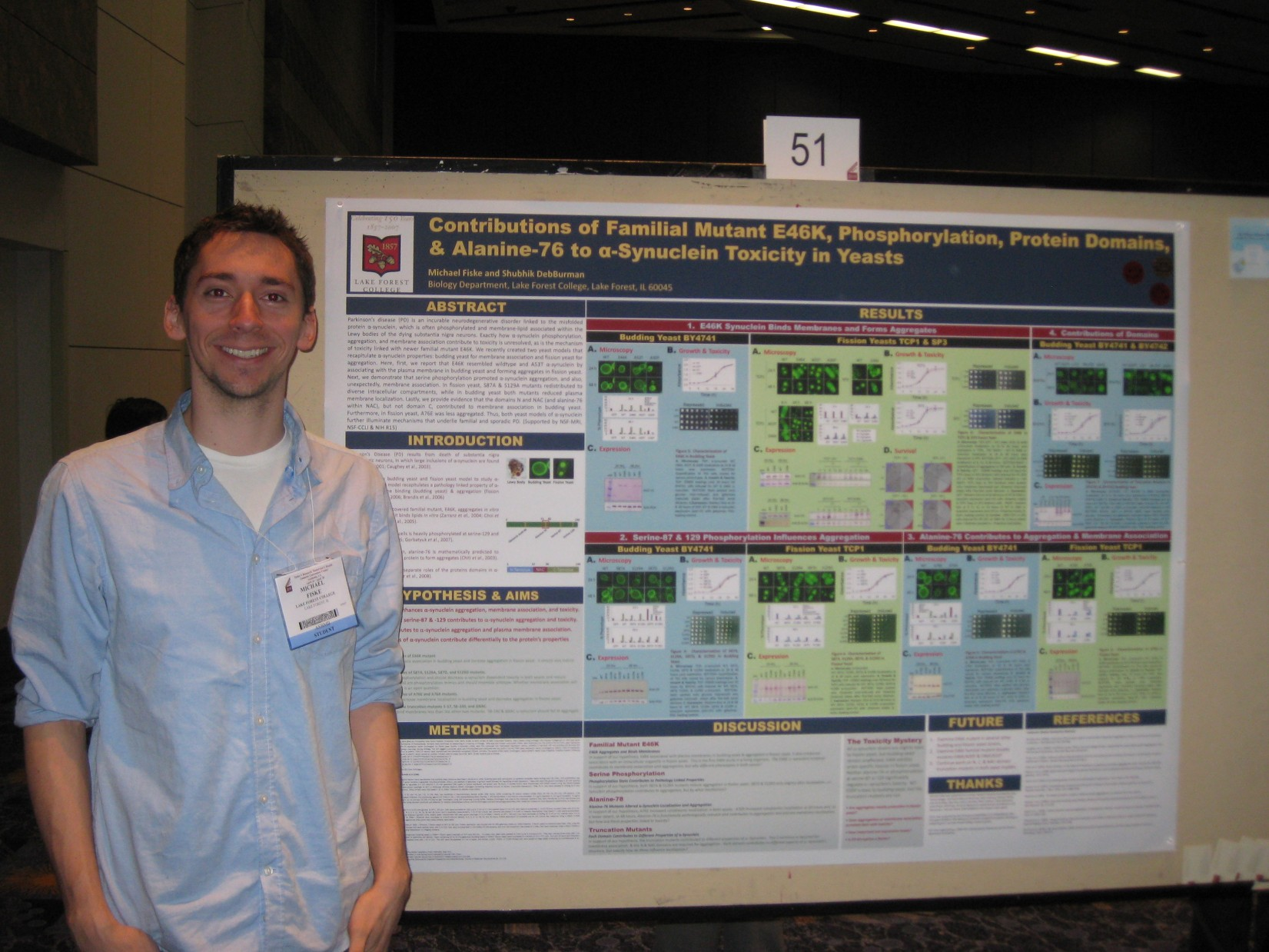 michael fiske at ASBMB2010