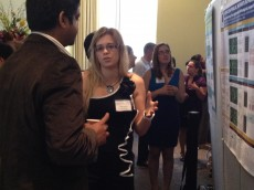 Natalie Kukulka '14 presenting Parkinson's research at the 2012 GLC-ASPET meeting