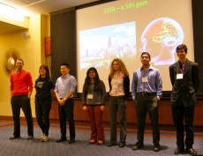 Lake Forest College's Nu Rho Psi Chapter (the national neuroscience academic honorary) was officially feted at the 2014 Ch...