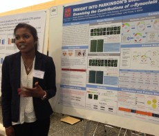 Morgan Marshall '16 presented her senior thesis research on Parkinson's disease at  the 2015 GLC-ASPET meeting.