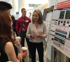 Viktoriya Georgieva '18 presented her Richter Scholar research on Parkinson's disease at  the 2015 GLC-ASPET meeting.