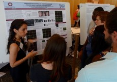 2016 neuroscience graduate Sarah Chiren '16, also presented a poster on her senior thesis on the neuroscience of concuss...