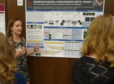 Current Richter Scholar Alexsandra Biel '20 presented her research on Parkinson's Disease conducted at Lake Forest College.