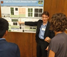 Yoan Ganev '19 received first prize among undergraduates for his Parkinson's Disease work conducted at Lake...