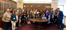55 students and five faculty attend the 2019 CSfN meeting on April 19 at Northwestern Memorial Hospital.