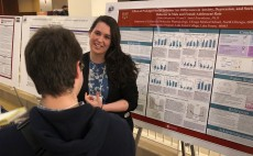 Neuroscience and Art History senior Liza Mrackova '19 presents her senior thesis on stress and anxiety.