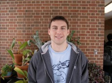 Paulius Kuprys '12 is a junior majoring in biology with a minor in chemistry. He is role-playing Nobel Prize winner Dr. St...