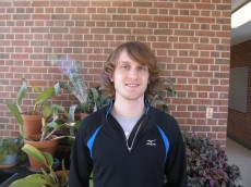 Pete Sullivan '12 is a junior majoring in biology with a minor in chemistry. He is role-playing Dr. Fred Gage from th...
