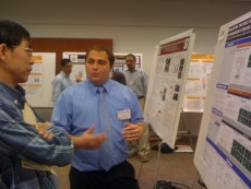 Keith Solvang '11 received the first prize for Parkinson's disease research conducted at Lake Forest College.