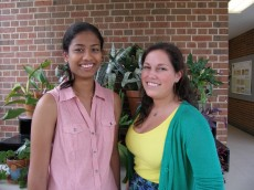 National travel award winners Daniella Brutman '12 and Madhavi Senagolage '12 will attend the 2011 Society for Neurosc...