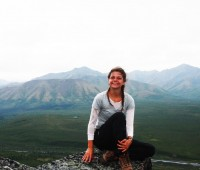 Victoria Jones '13, an Environmental Studies major, went backpacking in Denali National Park while working at a nature s...