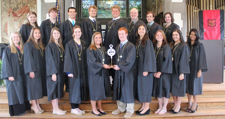 The Lake Forest College Circle of Omicron Delta Kappa was chartered on April 27, 2014.