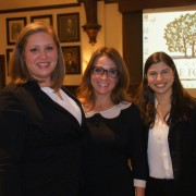 Lisa Feldman '15 and Clara de Mello e Souza Meth '15 worked with T-Ann Pierce on her life coaching business.
