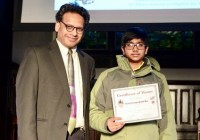 2019 Chicago Brain Bee winner Shouri Bochetty