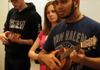After each group presented their lesson, Professor Edgar led discussion in which students reflected on their teaching and ...