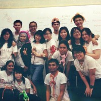 Trang Ho '15 (fourth from right, third row) attended a weeklong leadership summit in Singapore last summer that motivate...