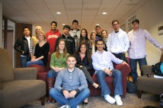 The Lake Forest College chapter of the American Marketing Association