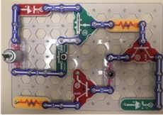 Snap Circuits isn't just a toy for 10-year-olds, as Professor Kelley and Sydni Cole '12 discovered in their research of me...