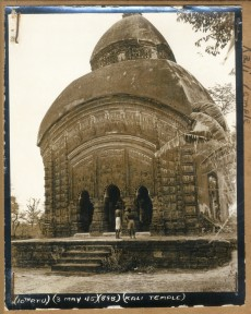 According to the notes at the bottom of the original, this photo depicts the Kali Temple and was taken or developed on May...