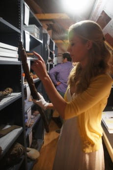 Sami Niese '15 has spent the last several months reorganizing the Sonnenschein Gallery collection catalogue and the phys...