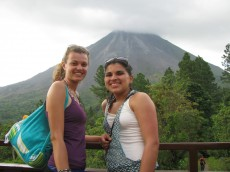 While she's in Costa Rica, she will investigate MD-MPH programs to enroll in the following year.